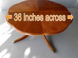 Solid Wood table...beautiful