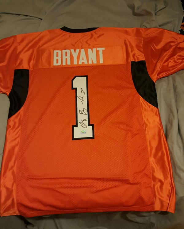 Dez Bryant College Signed Jersey
