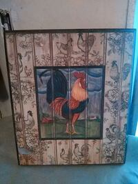 brown and green floral wooden cabinet Denham Springs, 70726