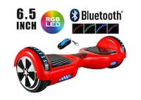 Red Hoverboard 558 km