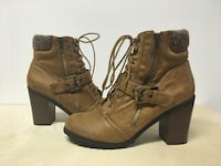 JUSTFAB ANKLE BOOTS WOMENS SIZE 10 Edmonton, T6J