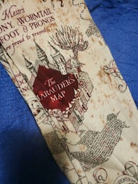 The MARAUDERS'S MAP SCARF  Raleigh, 27603
