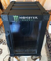 Monster Energy Thermo Electric Dorm Fridge Cooler/18 Cans