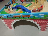 Real wooden Thomas Engine train table Vaughan