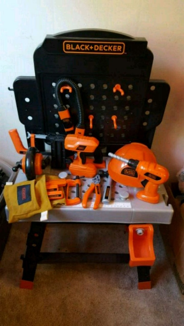 Black And Decker Toddler Tool Bench 2019 Mudroom Bench