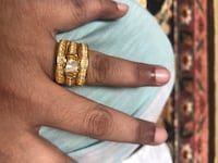 gold and diamond ring in box Falls Church, 22041