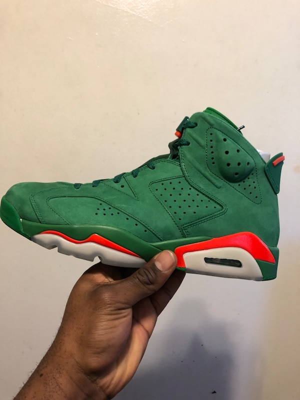 Used Unpaired green air jordan 6 gatorade shoe for sale in Toronto - letgo 4c424244d