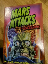 Mars attacks dice game, becer used. $20 OBO Edmonton, T5N 0T1