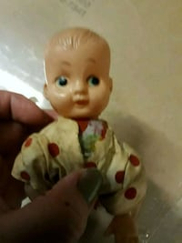 The Cutest Vintage Baby Crawling Wind-Up Toy Chicago