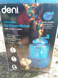 Deni automatic ice cream maker w/ candy crusher