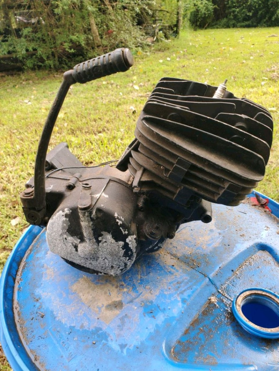 Photo 175cc two stroke motor