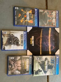 Call of duty bundle 6 games brand new sealed  Denver, 80211