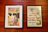 Two Framed French Prints Minneapolis, 55408
