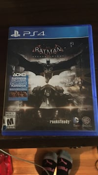 PS4 Batman Arkham Knight game case Edmonton, T5G 0H7