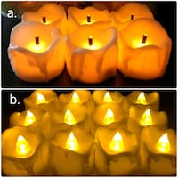 Flickering flameless candles (18pcs) Toronto, M4Y