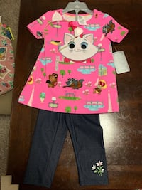 Disney outfit with matching headband size 2 Baltimore, 21234