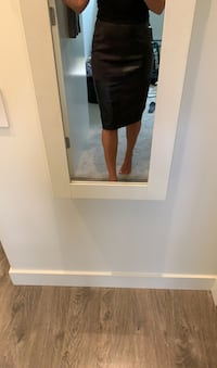 Ivanka Trump leather and suede skirt Coquitlam, V3J 0B6