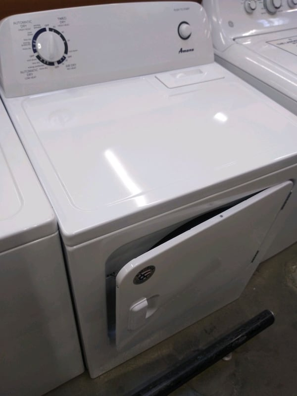 Amana gas dryer large capacity works good 30 day warranty  (Phone number hidden by letgo)  1