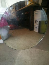 Round thick wall mirror Martinsburg, 25404