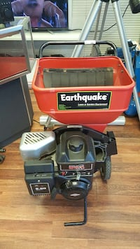 black and red earthquake chipper shredder Chicago, 60647