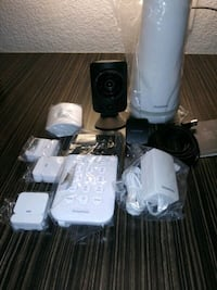 security alarm system with cam