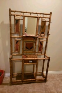 Unique Bamboo piece with mirror and drawer West Kelowna, V4T 2J3
