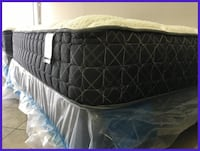 Mattress and Boxspring Sets on Clearance -  Pillowtop Plush Memory Foam Cooling Gel