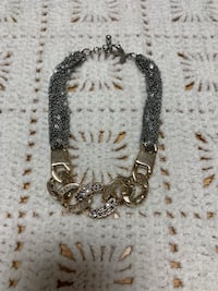 EXPRESS Silver & Gold Chain Necklace