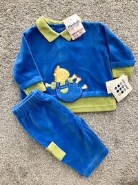 BRAND NEW BABY BOY OUTFIT SIZE 3/6 MOS