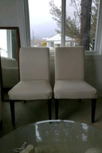 2 chairs.. off white  Vancouver, V5K 2L4
