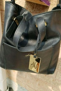 black leather 2-way handbag Mississauga, L4Z 3J5