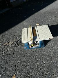blue and grey table saw East Bridgewater, 02333