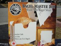 11 BRAND NEW BAGEL SLICERS CHEAP PRICE $10.00 EACH 14 LEFT TO SELL!