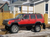 Jeep rims and tires 31/10.5r15 Calgary