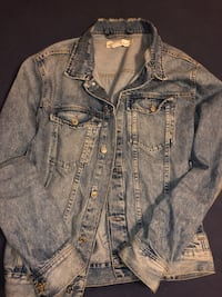 Denim jacket size large h&m
