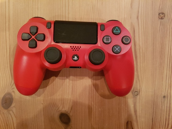 roter Sony PS4 DualShock Controller
