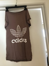 women's black and white Adidas tank top 43 km