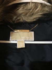 Women's size medium Michael Kors winter coat with removable hood