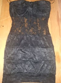 black laced dress. Winnipeg, R2W 0J3