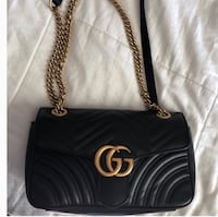 black leather Chanel tote bag New York, 10459