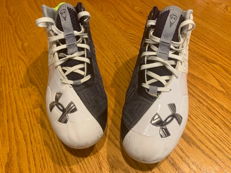 Men's size 8 & 8.5 Lacrosse cleats Under Armor Banshee 011caa43-69fd-46ab-bbe0-8cb9ad8acb3a