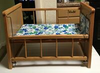 Brown wooden bunk bed frame Wilmington