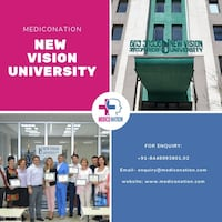 STUDY MBBS in New vision university| Fees structure| Hostel NOIDA