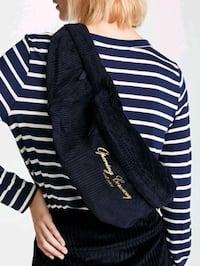 NEW Opening Ceremony Pouch - Navy / Red