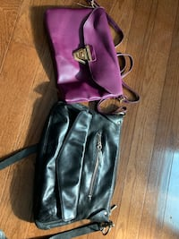 1 black and 1 purple purse/handbag/purse Manassas, 20109