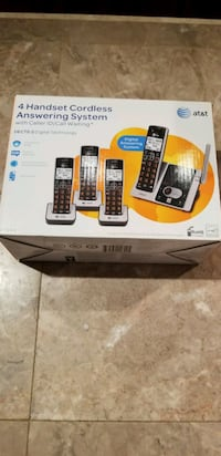 4 Handset Cordless Answering System New Rockville, 20852