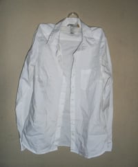 White Button Shirt 79924 El Paso
