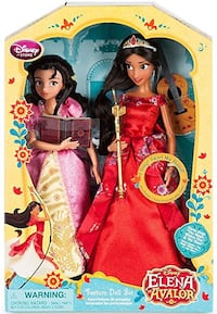 Disney Elena Of Avalor Doll set 1201 mi