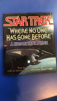 "STAR TREK ""WHERE NO ONE HAS GONE BEFORE"" A HISTORY IN PICTURES *OPENED* Mooresville, 28117"