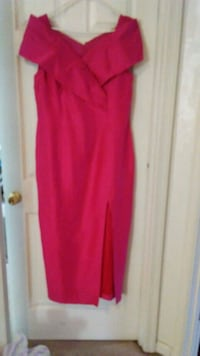Brides maid/prom gown Linen Good condition worn o